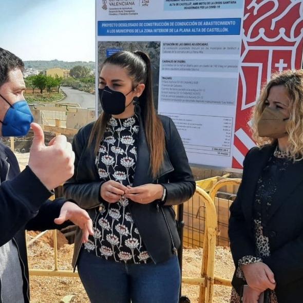 Garcia y Mollà defienden la coordinación institucional para garantizar el suministro de agua potable en todos los municipios de las comarcas de Castellón