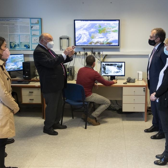 La Diputación colaborará con la Universitat Jaume I en el estudio de los efectos del cambio climático en la provincia