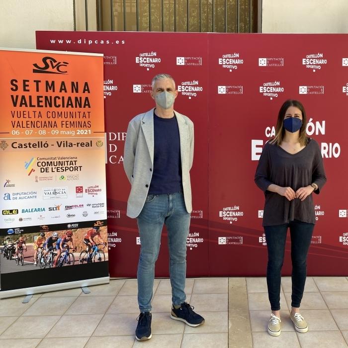 Tania Baños elogia el potencial de la Vuelta Ciclista a la Comunidad Valenciana para dar visibilidad al deporte femenino
