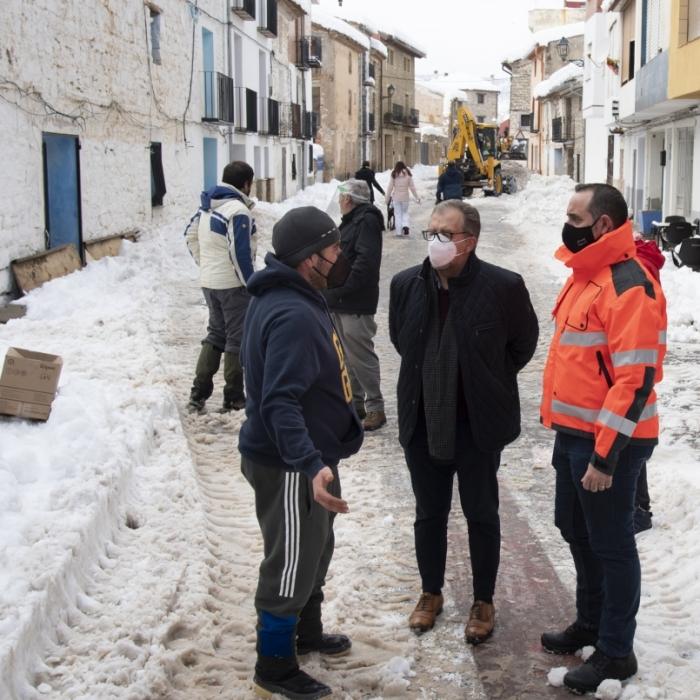 La Diputació aprovarà demà les bases per a les ajudes als municipis de la província afectats per la borrasca Filomena