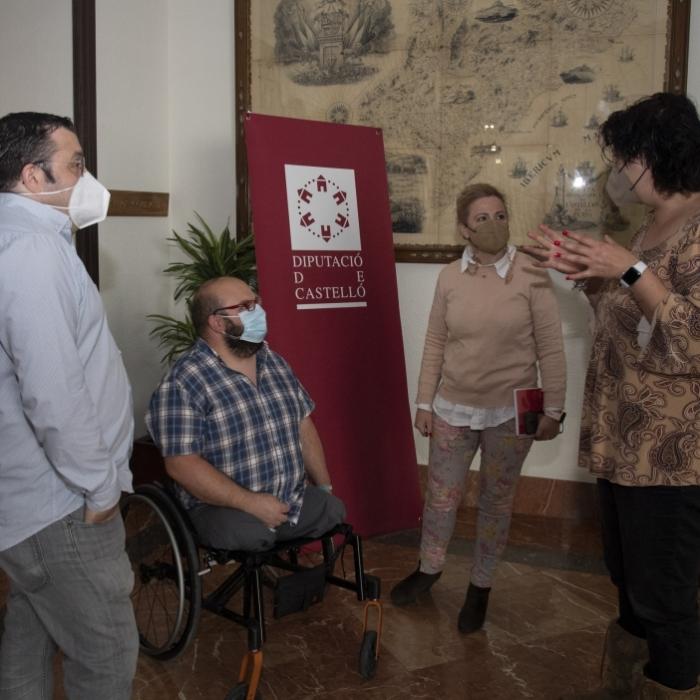 El Patronato de Turismo y Cocemfe sientan las bases para un convenio de promoción del turismo inclusivo en la provincia de Castellón
