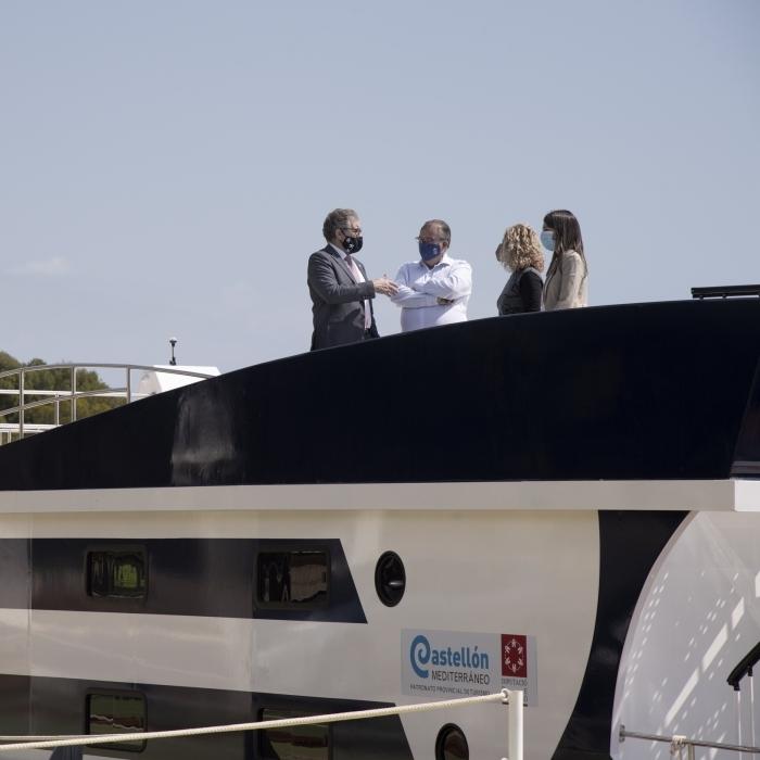 La Diputació de Castelló recolza amb 200.000 euros al Club Nàutic d'Orpesa per a l'adquisició de dos vaixells escola