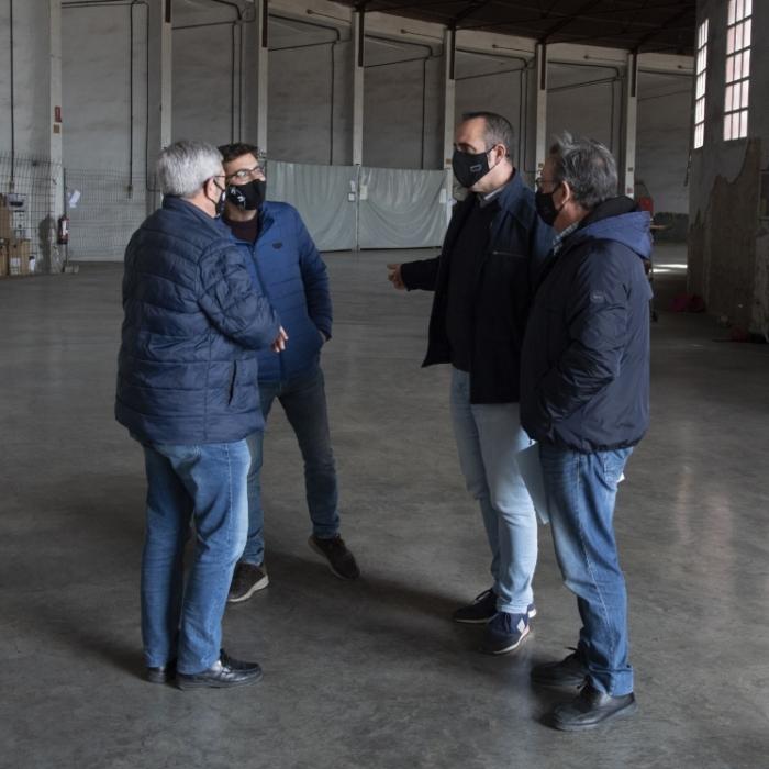 La Diputació de Castelló invertirà 62.682 euros en la rehabilitació del cotxeró per a la seua utilització parcial com a magatzem provincial d'Equips de Protecció Individual (EPI)