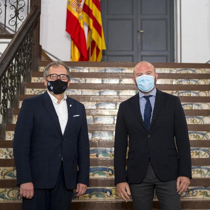 Les diputacions de Castelló i València sumen forces per a guanyar eficiència amb els municipis