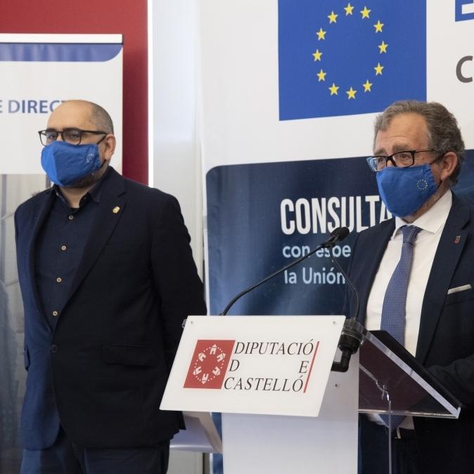 La Diputació renova seu el conveni amb la Comissió Europea i continuarà sent l'antena d'Europa a la província fins a 2025