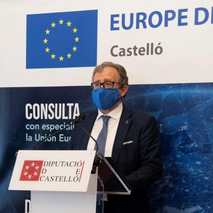 La Diputación aspira a superar la crisis transformando el modelo productivo provincial con los fondos europeos de reconstrucción