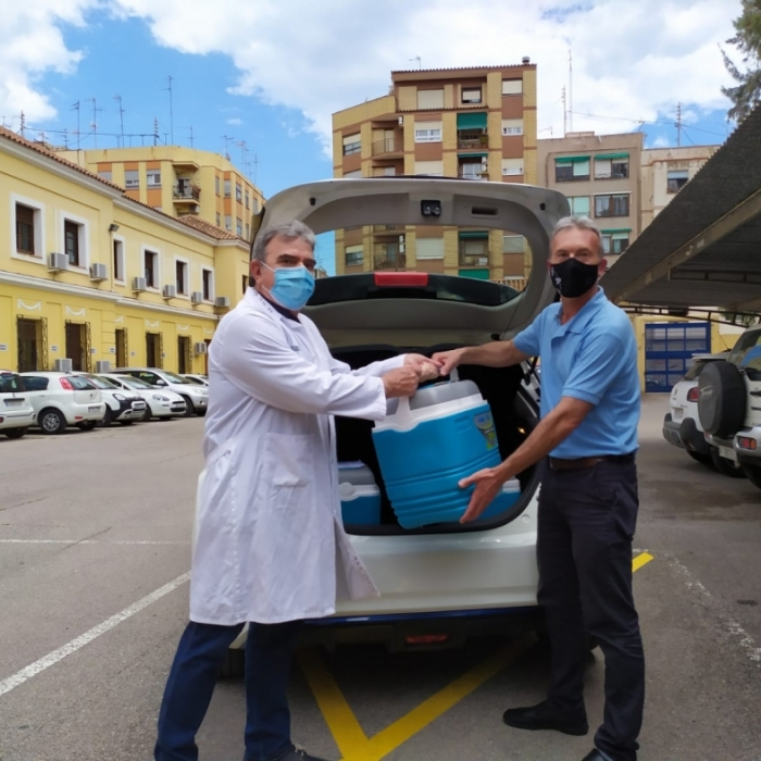 El Parque Móvil de la Diputación colabora desde hoy en el traslado de vacunas a los centros de salud de la provincia