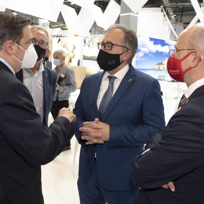 José Martí traslada al ministro Luis Planas la calidad de los productos de Castelló Ruta del Sabor para estudiar fórmulas de colaboración desde la marca Alimentos de España