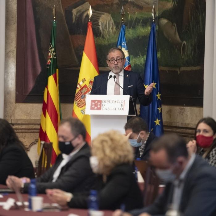 José Martí defensa una revisió de les Zones Especials de Conservació (ZEC) que permeta generar activitat econòmica a l'interior i combatre la despoblació