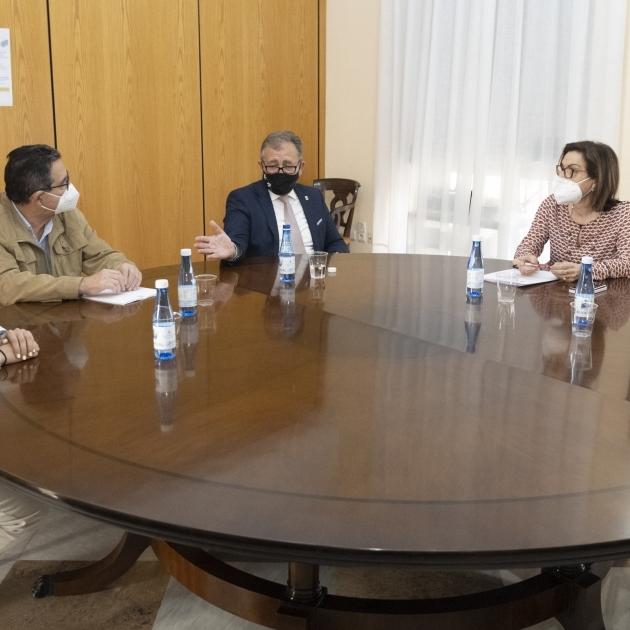 José Martí trasllada a la subdelegada del Govern la petició de les alcaldesses i els alcaldes d'agilitar amb fons europeus les actuacions en la costa de Castelló