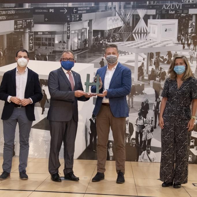 La Diputació obri la versió 'on line' de Cevisama 2021 premiant Rocersa per la innovació en el sector ceràmic