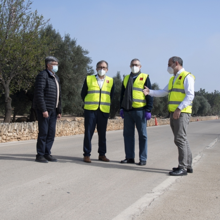 La Diputació incrementa un milió d'euros la inversió en conservació de carreteres en assumir la titularitat de nou vies municipals