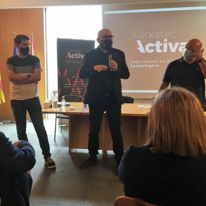 La Diputació impulsa Xarxatec Activa per a la capacitació tecnològica de les empreses de Castelló