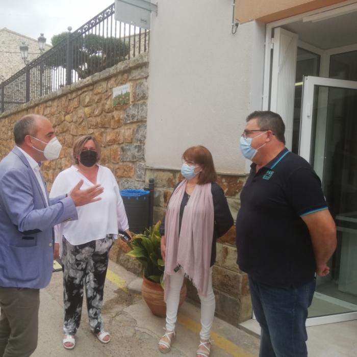La Diputació promou a Gaibiel l'obertura d'una botiga multiservei «com a revulsiu per a fixar i atraure població»
