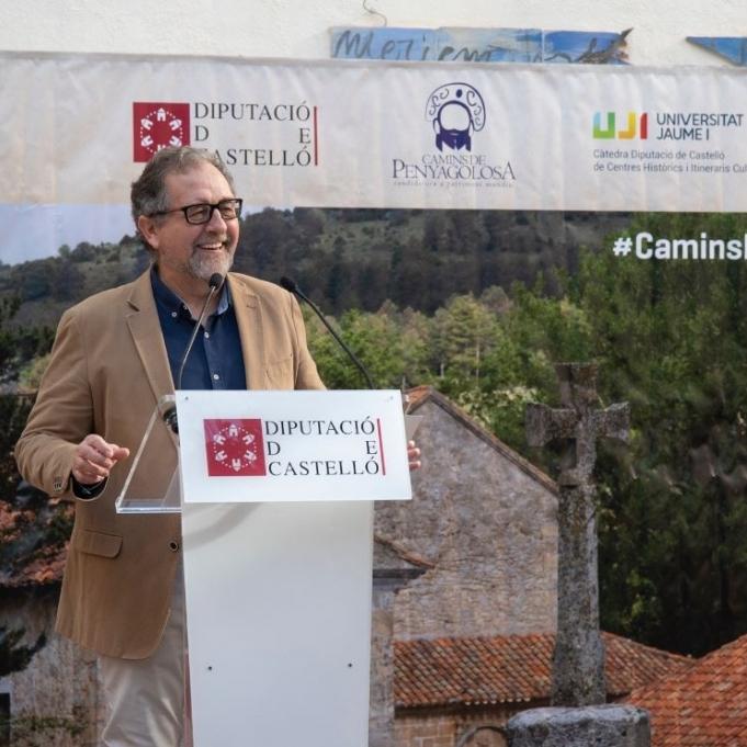 """José Martí: """"És una gran notícia que demà se signe el conveni per a la recuperació de Sant Joan de Penyagolosa que finançaran al 50% la Diputació i la Generalitat"""""""