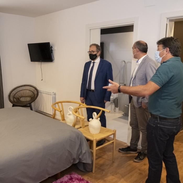 José Martí considera una molt bona notícia la pròxima reobertura de l'hotel de la Serratella