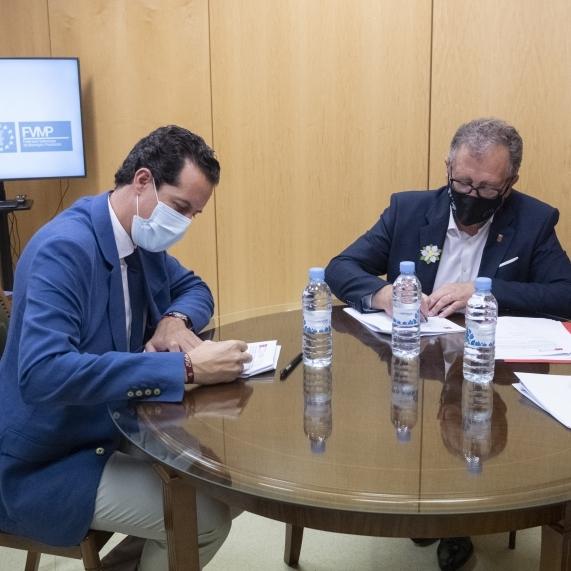 La Diputació de Castelló i la FVMP inauguren l'oficina tècnica de suport als ajuntaments per a l'accés als Fons Europeus de reconstrucció