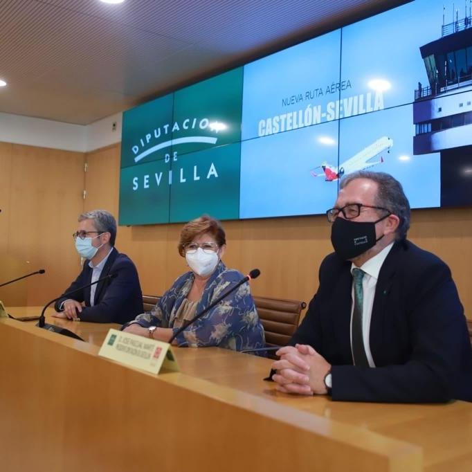 José Martí promociona a Sevilla la bellesa i qualitat de l'interior i les platges de la província de Castelló
