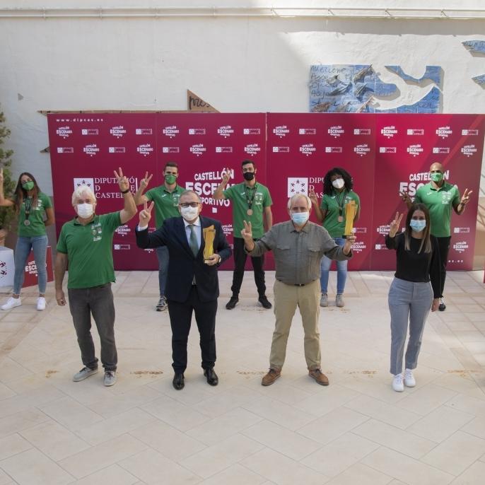 La Diputación subvenciona con casi un millón de euros a 35 clubes de élite de la provincia