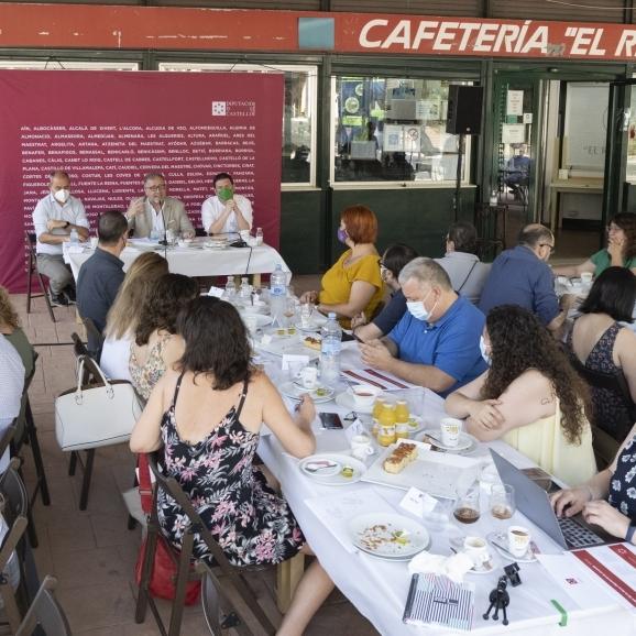 José Martí ha recorregut 50.000 quilòmetres per la província de Castelló en els seus dos primers anys com a president de la Diputació