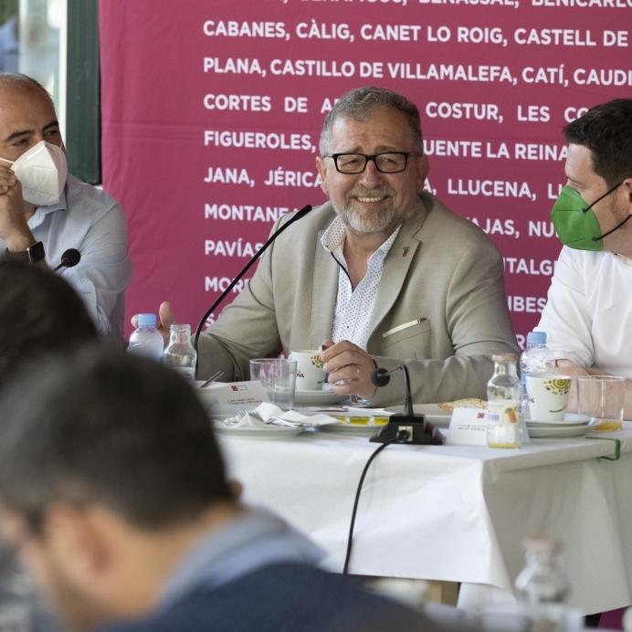 """José Martí se marca el reto de convertir la Diputación de Castellón en el """"motor de la recuperación económica y social de la provincia"""" los dos próximos años"""