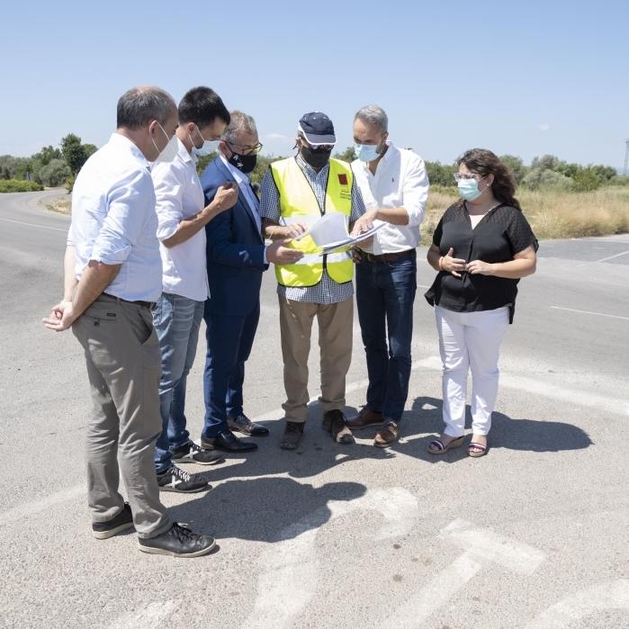 La Diputació inverteix 220.000 euros en la millora de la seguretat viària de la CV-101 que connecta Vinaròs amb Alcanar