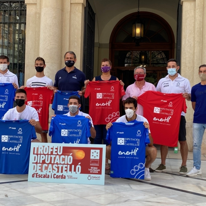 Patricia Puerta anima a disfrutar de la 'pilota valenciana' con el XIII Trofeu Diputació de Castelló d'Escala i Corda, que se celebrará del 3 al 28 de agosto
