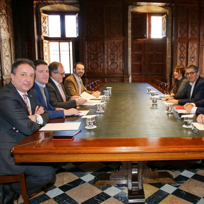 Fondos europeos, Plan Resistir y ayudas a los municipios centrarán la comisión bilateral que reunirá el 4 de agosto a la Diputación y la Generalitat en Castellón