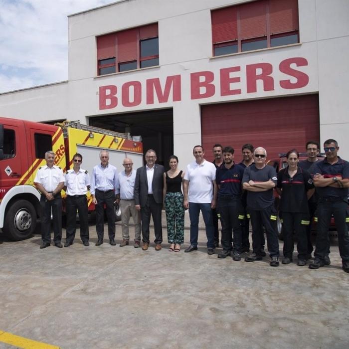 La Diputación moviliza a 750 efectivos de bomberos, 200 vehículos y cinco medios aéreos para proteger la provincia ante el riesgo extremo de incendios