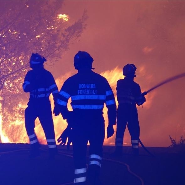 Los bomberos de la Diputación intervienen durante la ola de calor en 21 incendios en toda la provincia de Castellón