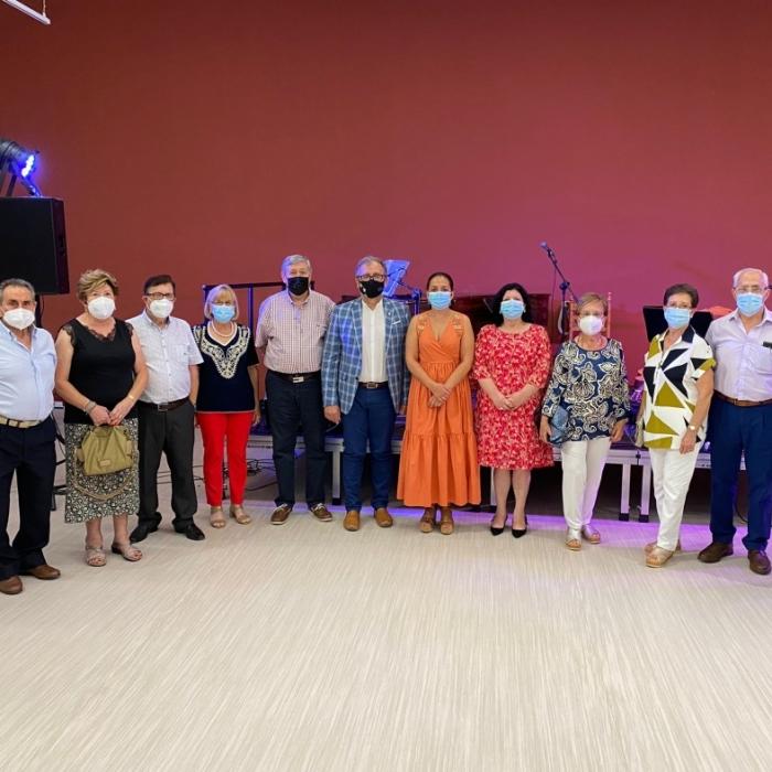 José Martí y Ana Besalduch inauguran el centro polifuncional de Sant Mateu construido con 350.000 euros aportados por la Diputación