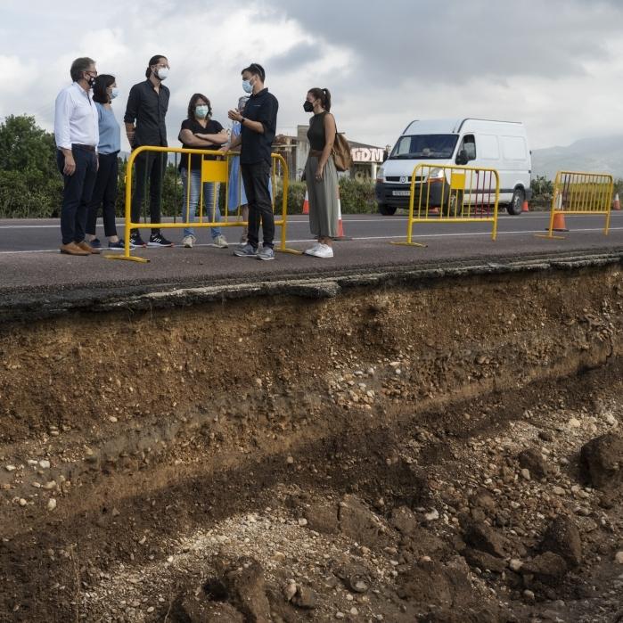 El equipo de gobierno de la Diputación trabaja en una declaración institucional para acelerar la llegada de ayudas a Benicàssim y Vinaròs por las lluvias
