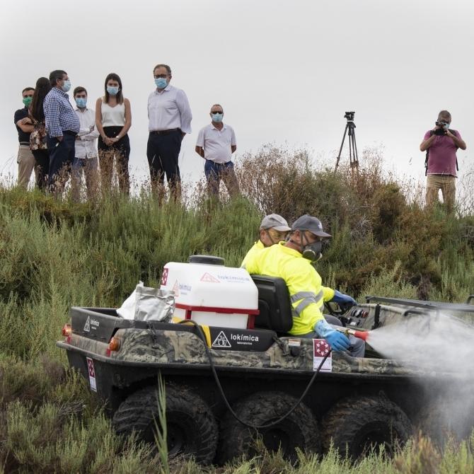 La Diputació de Castelló activarà demà les fumigacions aèries contra els mosquits