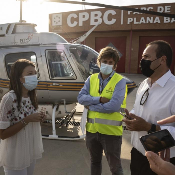 La Diputació activa un tractament aeri de xoc antimosquits sobre 1.700 hectàrees de la província