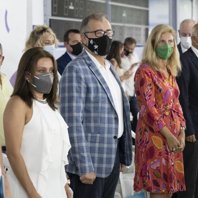 """José Martí anima a los participantes del Campeonato Europeo de Salvamento y Socorrismo a conocer Castellón y """"convertirse en embajadores de la provincia"""""""