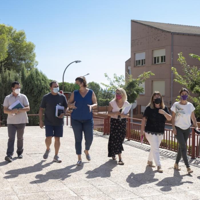 La Diputació i la Generalitat preparen dos convenis per valor de 3 milions d'euros per al manteniment dels centres educatius de Penyeta Roja