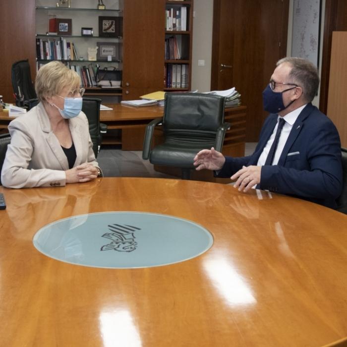 """José Martí celebra l'anunci de la culminació de l'edifici d'oncologia del Provincial de Castelló: """"Serà una referència"""""""