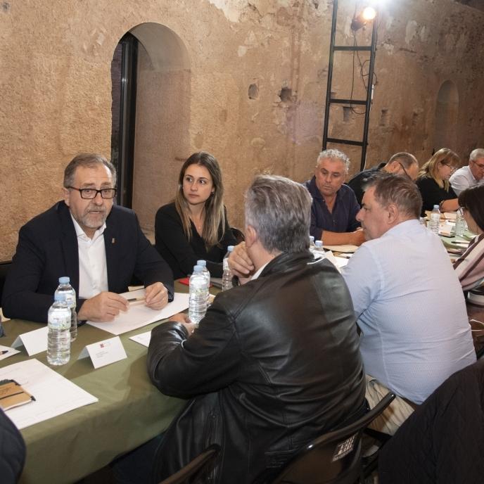 José Martí inicia demà a Borriana les reunions comarcals amb alcaldes prèvies a l'elaboració dels pressupostos de 2022