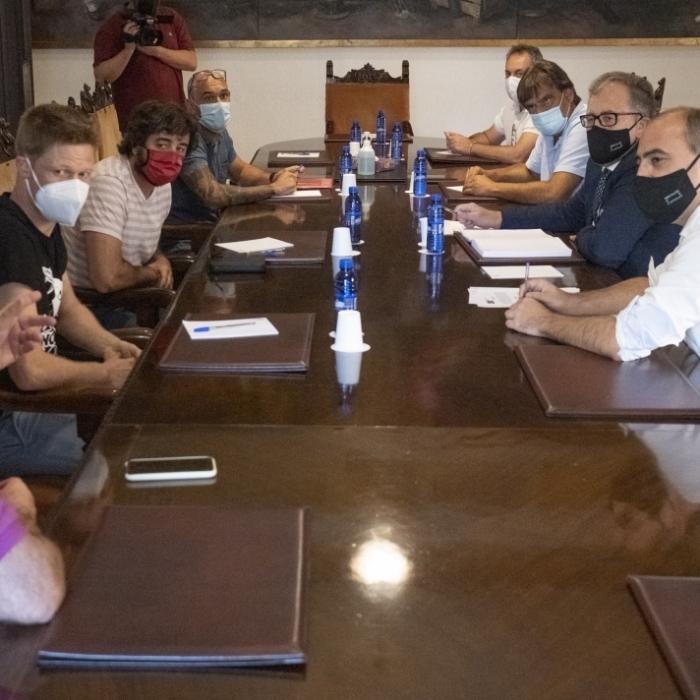 """Santi Pérez: """"La Diputació voria amb bons ulls que Red Eléctrica Española introduïra correccions en la MAT al seu pas per Atzeneta, Sant Joan de Moró i Borriol"""""""