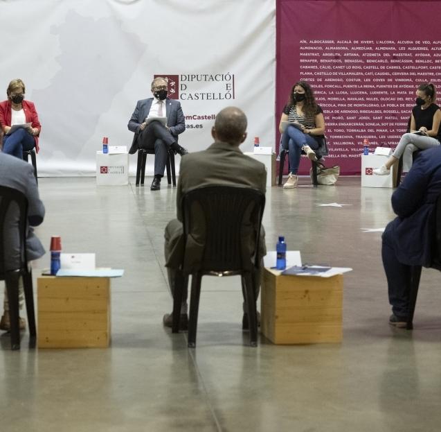 José Martí destaca que en 2021 la Diputació progressista ha transferit ja 12,4 milions d'euros a ajuntaments i entitats de la Plana Baixa, més del triple que en 2019