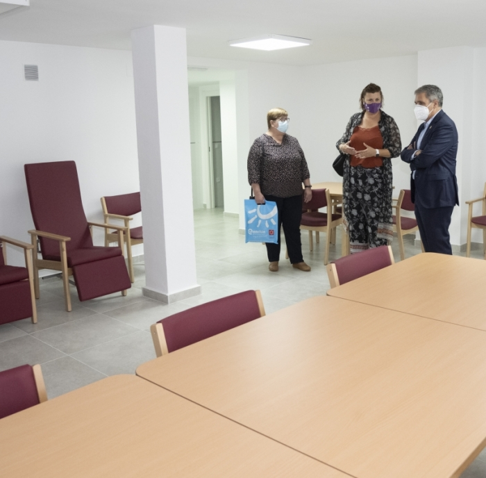 La Diputación de Castellón promueve en Soneja el envejecimiento activo con un nuevo centro de atención para mayores