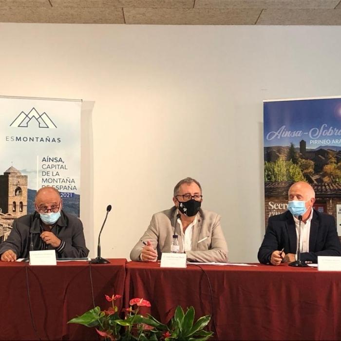 José Martí presenta en el congrés d'Esmontañas en Aínsa (Osca) el projecte de la Diputació per a la transició digital de la província de Castelló