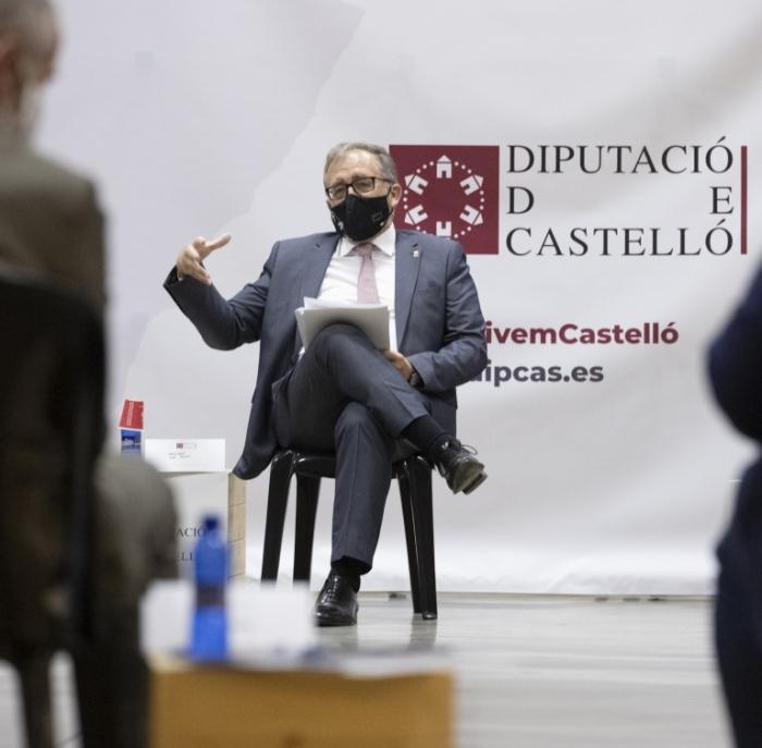 José Martí escoltarà demà les alcaldesses i alcaldes de l'Alt Palància per a dissenyar de la mà dels ajuntaments el pressupost de la Diputació per a 2022