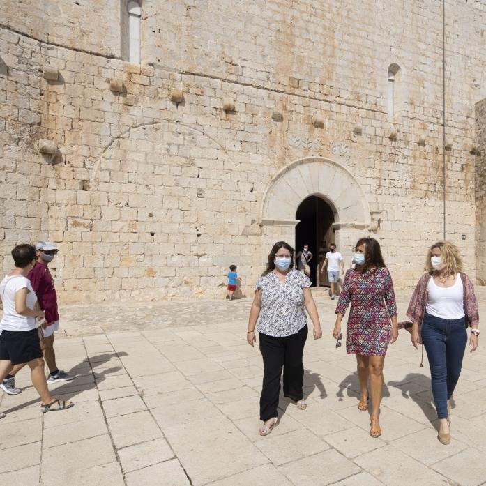 La Diputación aprovechará la fuerza del castillo de Peñíscola para presentar los atractivos turísticos de la provincia a los visitantes