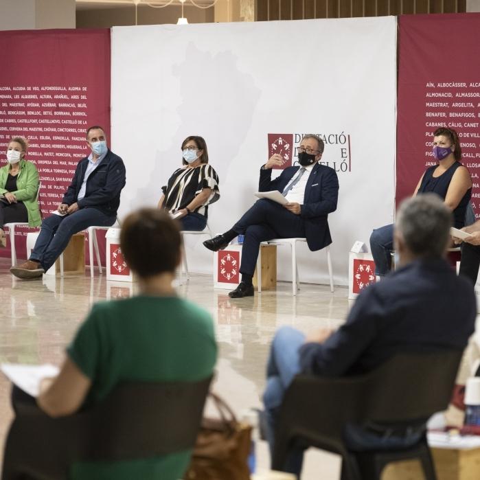 La Diputació de Castelló duplica en dos anys els fons transferits a ajuntaments i entitats de l'Alt Palància en superar els 10,2 milions en 2021