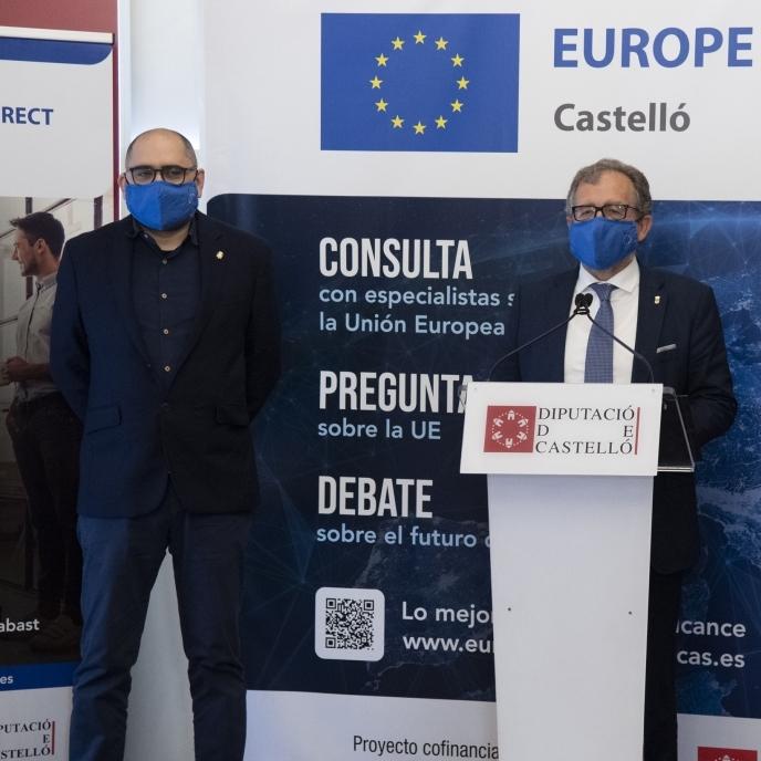 La Diputació adjudica el contracte per a la captació de projectes que permeten accedir a fons europeus i reactivar la província de Castelló