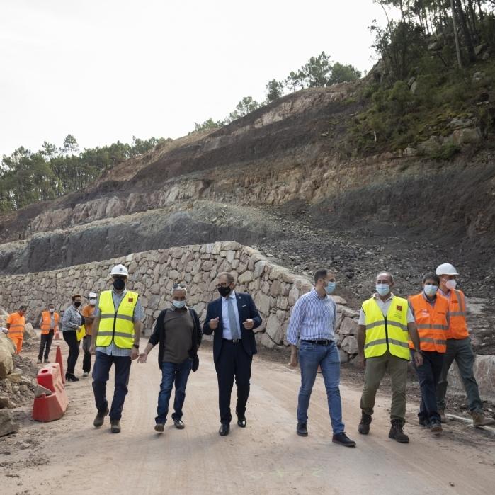 La Diputació finalitza les obres de millora de la seguretat viària de la CV-207 a Puebla de Arenoso, que han suposat una inversió de 336.000 euros