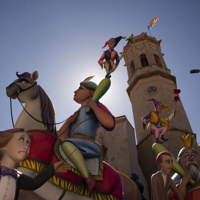 La Diputació de Castelló s'alia amb Borriana i Benicarló per a reactivar amb força les Falles d'octubre