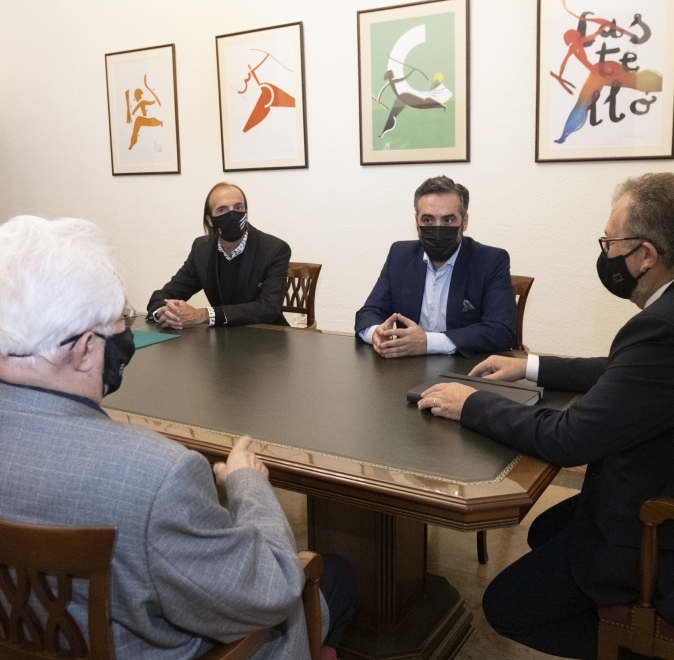 La Diputació secundarà econòmicament els actes commemoratius del primer centenari del C.D. Castellón organitzats per la Fundación Albinegra