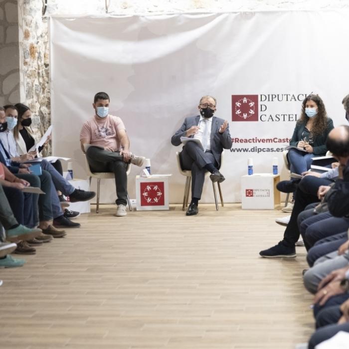 La Diputació de Castelló inverteix 8 milions d'euros en el futur de l'Alcalatén-Millars, un 110% més que en 2019